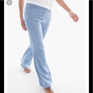 Chico's Wide Leg Linen Pants